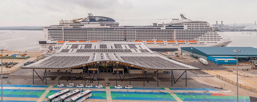 Southampton's Horizon Cruise Terminal Opens For Business (July 2021)